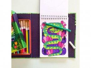Tvořivá sada Hidden Pattern - Zvířata  / Hidden Pattern - Animals