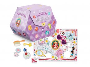 Puzzle truhlička - malá princezna