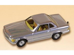 Mercedes cupe - stříbrný