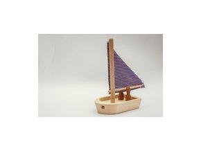 Dřevěná lodička Pišlická