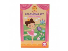 colouring set balet