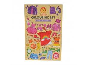 colouring set fashion