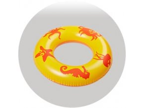 Nafukovací kruh s obrázky moře