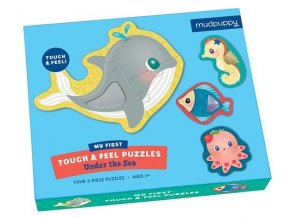 mudpuppy puzzles touch and feel under the sea box
