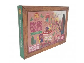 Magic painting world - Fairy garden