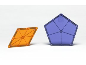 # 15718 Magna Tiles Polygons 8 Piece Expansion Set 1
