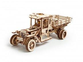 Dřevěné 3D mechanické puzzle UGM-11 truck