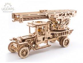 Dřevěné 3D mechanické puzzle požární žebřík