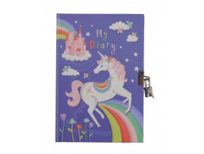 Lockable Diary My Diary Unicorn front DSC 5923 HR 09685.1499054902