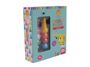 Oodle Doodle voskovky - Zvířata / Oodle Doodle - Animals