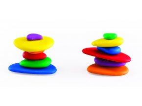 Duhové kamínky / Rainbow Pebbles