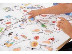 Smyslové domino (5 Senses dominoes)