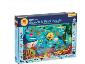 Search & Find Puzzle - Oceán (64 pcs)