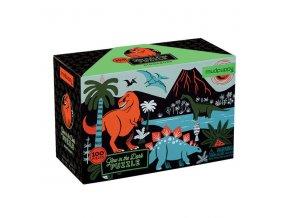 Glow in the dark puzzle- dinosauři