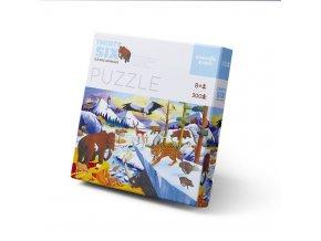 pol pl Puzzle 300 el Zwierzeta Epoki Lodowcowej Crocodile Creek 4068 7 19700 1