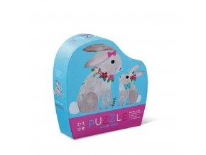12 pc mini puzzle bunny love new