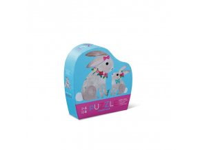 12 pc mini puzzle bunny love new