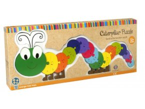 Alphabet Puzzle Caterpillar
