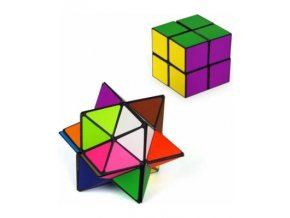 the amazing star cube transforming geometric puzzle star fits into cube