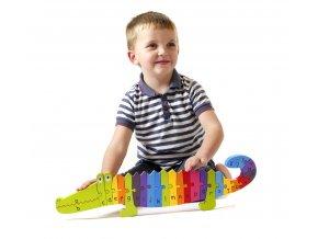 Orange Tree Toys Crocodile Puzzle 1