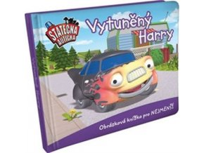 Vytuněný Harry - leporelo kniha Statečná autíčka