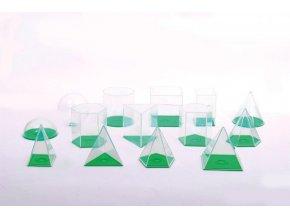 Geometrické průhledné tvary (geometric volume set)