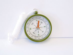 Kompas 45mm s přívěskem