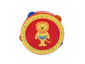 lion tambourine 1