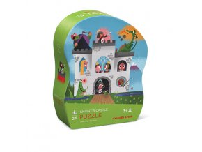 Mini Shaped Puzzle/Knight's Castle 24 Pcs