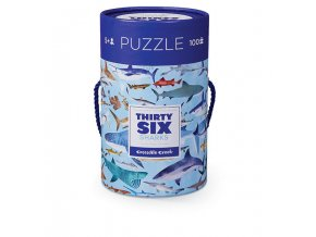 100 pc Puzzle/Sharks