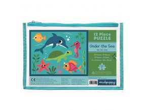 Pouch Puzzles/Under the Sea (12 pcs)