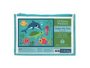 Pouch Puzzles/Under the Sea (12 pcs)
