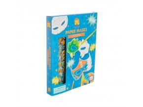 tiger tribe paper masks action pack extra 24086