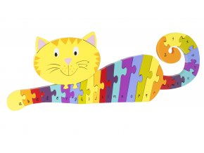 Copy of Alphabet Puzzle Cat