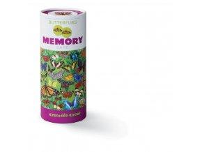 Motýli 72 kartiček/72 pc Memory Game/Butterflies