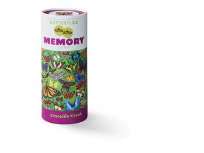 Pexeso Motýli 72 kartiček / 72 pc Memory Game - Butterflies