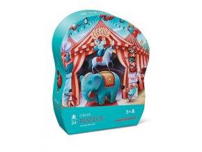 Mini puzzle - Cirkus (24 ks) /  Mini Puzzle - Circus (24 pc)