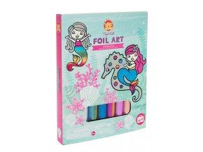 Foil Art - Mořské panny / Foil Art - Mermaids
