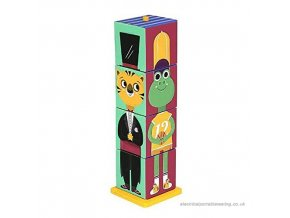 krooom stack match animals 4 cubes 3d to assemble figurines (k 440) b004n1lshq 500x500 product popup