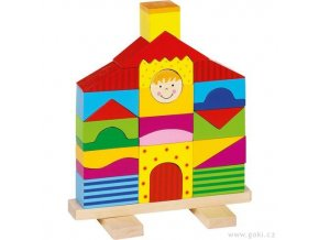 Nasouvací dřevěná věž - vila