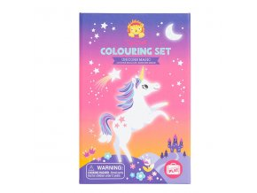 Colouring Set - Unicorn Magic / Kouzlo jednorožce