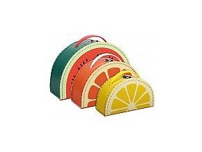 Kufříky Ovoce citron-pomeranč-meloun