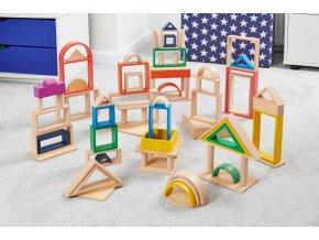 Duhový Architekt oblouk / Rainbow Architect Arches