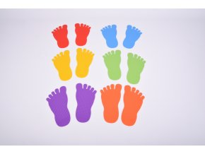 Foot Marks Set of 6 Pairs