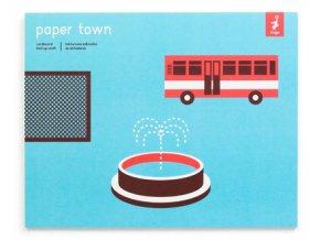 Papírové město 1 - Modré