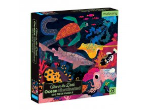 Glow in Dark Puzzle - Ocean Illuminated (500 pcs)