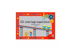 Mon Petit Art - 3D color box - roboti