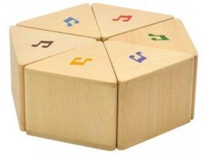 Paměťová hra zvuky / Sound prism set