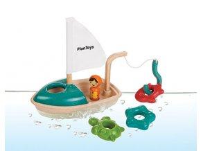 Plan Toys - Aktivity s loďkou