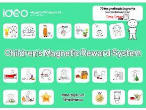 Set piktogramů pro odměňování dětí / Children's Reward pictogram kit